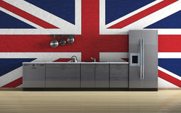 British kitchen Stock Image