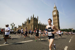 2013, British 10km London Marathon Royalty Free Stock Image