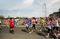 2013, British 10km London Marathon Royalty Free Stock Photo