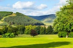 British landscape in Summer. British landscape in the summer Royalty Free Stock Images