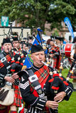 British Legion Pipe Band Royalty Free Stock Photography