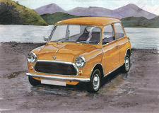 British Leyland Mini Stock Photos