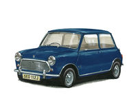 British Leyland Mini 1000 Stock Image