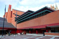 British library Stock Photo