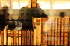 The British Library Stock Image