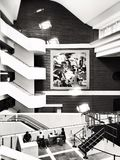 British Library interior, London Royalty Free Stock Photography