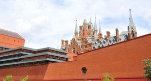 British Library Royalty Free Stock Photography