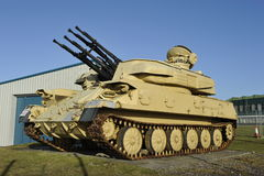 British Light Tank Royalty Free Stock Photo