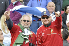 British lions supporters Royalty Free Stock Photos