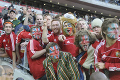 British lions supporters Stock Photography