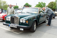 British luxury car Rolls-Royce Silver Shadow II Royalty Free Stock Image