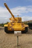 British made Charioteer lightweight tank captured by IDF in Southern Lebanon on display at Yad La-Shiryon Armored Corps Museum Stock Images