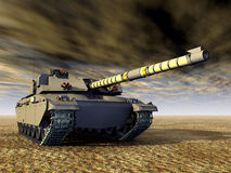 British Main Battle Tank Royalty Free Stock Photo