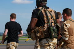 British Marines Stock Images