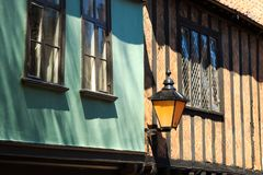 British Medieval House Stock Photo