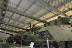 British medium and light tanks. royalty free stock image