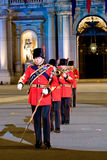 British military band Royalty Free Stock Photos