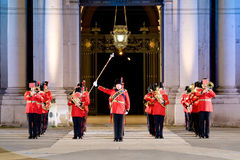 British military band Stock Images