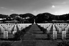 British Military Cemetery Royalty Free Stock Photos