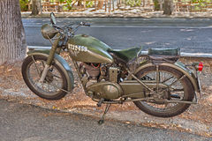 Free British Military Motorcycle Matchless 350 G3 L (1944) Royalty Free Stock Images - 74791089