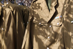 British military uniform Stock Photos
