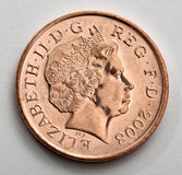 british moneta Obrazy Stock