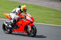Superbike Race 007 Stock Image