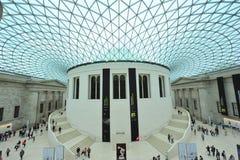 British museum. Inside the main chamber of the british museum Stock Images