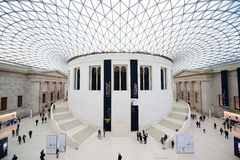 British Museum Royaltyfria Bilder