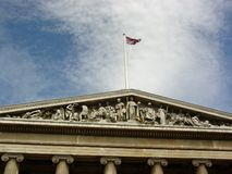 British Museum. Angled view of the British Musuem royalty free stock images