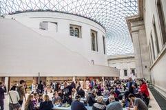 British Museum Lizenzfreie Stockfotos