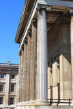 British Museum columns Royalty Free Stock Image