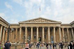 British Museum Columns Stock Image