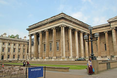 British Museum Columns Royalty Free Stock Photos