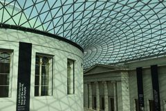 A British Museum immagini stock
