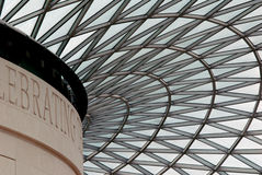British Museum Dome Royalty Free Stock Photos