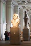 British museum Egyptian sculpture hall, Pharaoh Rameses Stock Photography