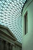 British Museum - Eingangsatrium Stockbilder