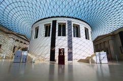British Museum en Londres Imagenes de archivo