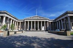 British Museum en Londres Fotografía de archivo