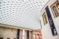 British Museum, en offentlig institution tilldelade till mänsklig historia, konst och kultur london uk arkivfoton