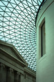 The British Museum - entrance atrium Stock Images