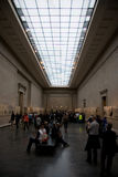 British Museum exhibition crowds Royalty Free Stock Photography