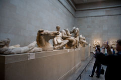 British Museum exhibitions Stock Images