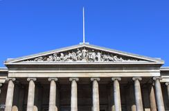 British Museum facade Stock Photos