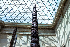 The British Museum glass ceiling.London, UK Stock Images