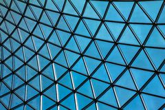 The British Museum glass ceiling.London, UK Stock Photography