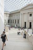 British Museum - grande corte Foto de Stock Royalty Free
