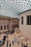 British Museum - The Great Court stock image
