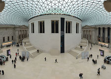 British Museum Great Court Stock Images